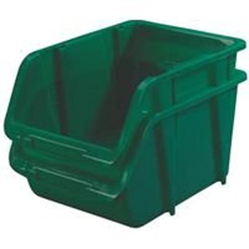 Stack-On Products Storage Bin Device Green BIN-1510