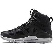 Under Armour Men's Verge 2.0 Mid Gore-TEX Hiking Boot, Black (004)/Mod Gray, 9