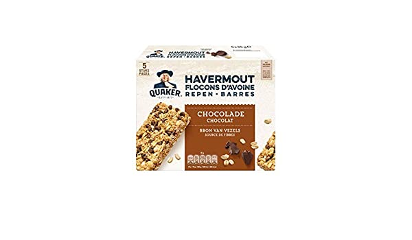 Barra De Avena Con Chocolate | Quaker | Barras De Avena ...