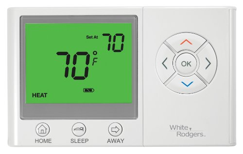 (Emerson UNP300 Non-Programmable Thermostat with Home/Sleep/Away Presets)