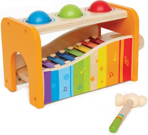 Hape Pound and Tap Bench / Educo Early Melodies Pound and Tap Bench, Baby & Kids Zone