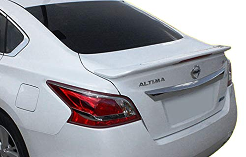 California Dream Lighted Factory Style Spoiler Compatible 2013 2014 2015 Nissan Altima (GLOSS BLACK KH3) ()