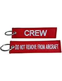 Crew Luggage Tag / Do Not Remove From Aircraft / Luggage Tag