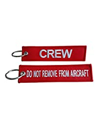 Crew Luggage Tag / Do Not Remove From Aircraft / High Quality
