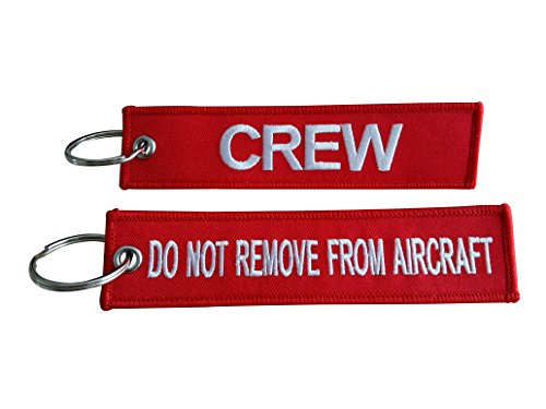 Crew Luggage Tag / Do Not Remove From Aircraft / (Crew / Do Not Remove From Aircraft)