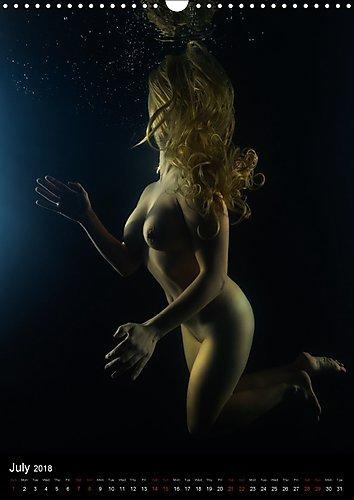 2018 artistic nude calendars