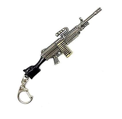 Pistola llaveros del Metal 3D (Paquete de 2): Amazon.es ...