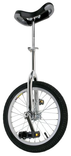 Lowest Price! Fun Chrome 16 Unicycle with Alloy Rim