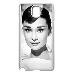 Samsung Galaxy Note 3 Cell Phone Case White Audrey Hepburn 001 HIV6755169571833