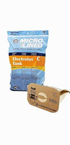 24 Electrolux C Bags and 2 After Filters for sale  Delivered anywhere in USA