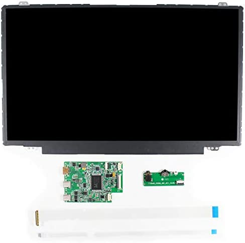 """VSDISPLAY 14"""" 14 INCH 1920X1080 IPS LCD SCREEN NV140FHM DISPLAY WORK WITH HD-MI TYPE-C LCD CONTROLLER BOARD"""