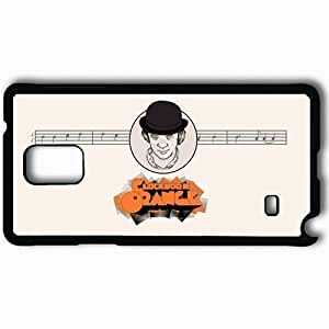 Personalized Samsung Note 4 Cell phone Case/Cover Skin A Clockwork Orange Black