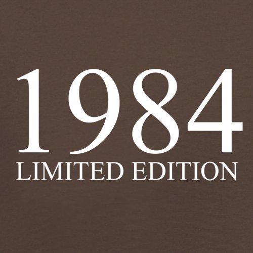 1984 Limierte Auflage / Limited Edition - 33. Geburtstag - Herren T-Shirt - Schokobraun - XS