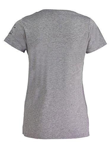 FROGBOX - Camiseta - Manga corta - para mujer 1757 limestone