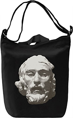 Portrait of a man Borsa Giornaliera Canvas Canvas Day Bag| 100% Premium Cotton Canvas| DTG Printing|