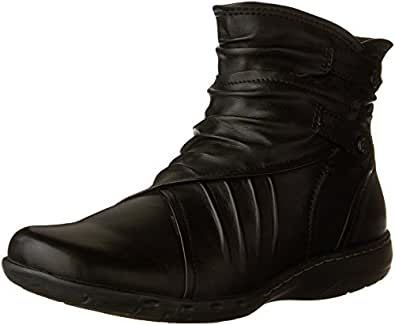 ROCKPORT Cobb Hill Women's Pandora Boot, Black, 6 M US