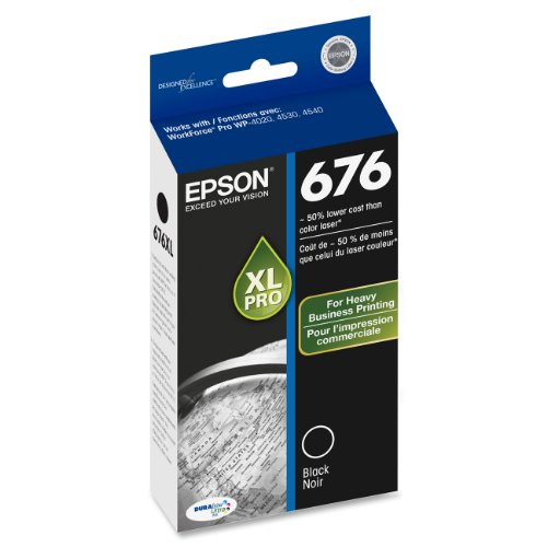 Epson T676XL120 DURABrite Ultra 676 Inkjet Cartridge (Ink, Toner & Inkjet Cartridges)