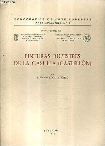 Amazon.com: Pinturas rupestres de La Gasulla (Castellon ...
