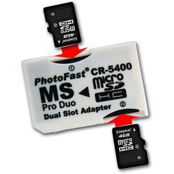 ADAPTADOR MICRO-SD A MEMORY STICK PRO DUO - DUAL: Amazon.es ...