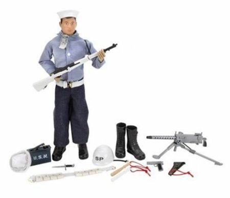 ection Shore Patrol SP Action Sailor 40th Anniversary 12' Action Figure (2004 Hasbro) (12' Gi Joe Action Figure)