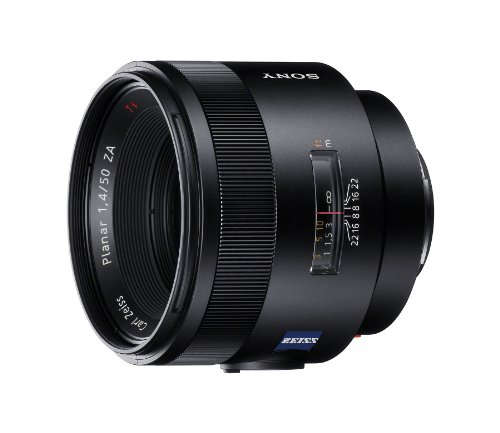 Price comparison product image Sony SAL-50F14Z Carl Zeiss Planar T 50mm F1.4 ZA Fixed Lens