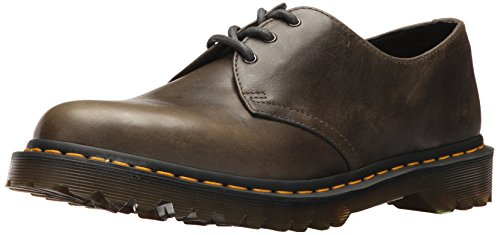 - Dr. Martens Men's 1461 Dark Taupe Oxford, 9 Medium UK (10 US)