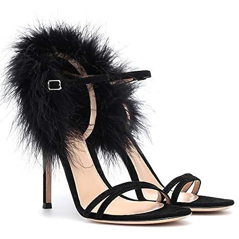 purchase cheap 7d525 d9338 MENGLTX Sandali Tacchi Alti 2019 Big Size 45 Sandali Donna ...