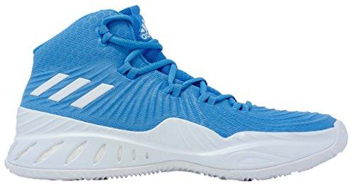 Adidas Crazy Explosive 2017 Shoe Mens Basketball Blu-bianco