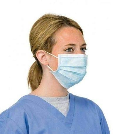 Froomer Mascarillas con enganches para la oreja, 10 unidades, con protección antivirus y anticontaminación