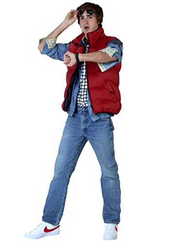 Back to the Future Marty McFly Costume Medium
