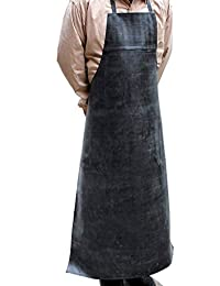 Waterproof Acid Alkali Aprons Chemical Protective Apron Made Of Rubber And Cotton
