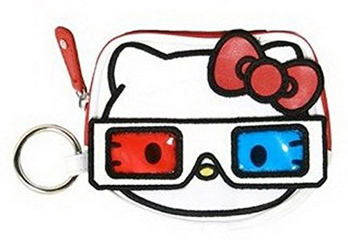 Hello Kitty 3D Glasses Coin Purse SANCB0243