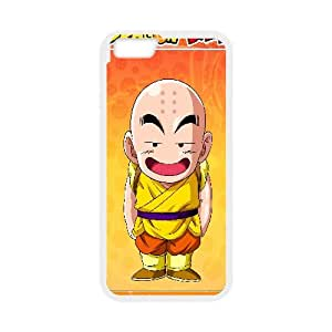 Krillin Dragon Ball Anime 00 iPhone 6 4.7 Inch Cell Phone Case White gift pp001_6489284