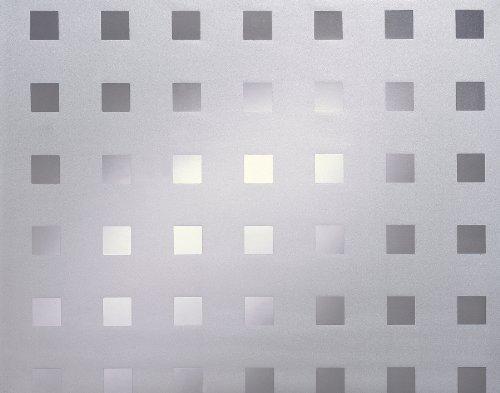DC Fix 338-0010 Decorative Static Cling Window Film, Caree/Matrix, 17.71