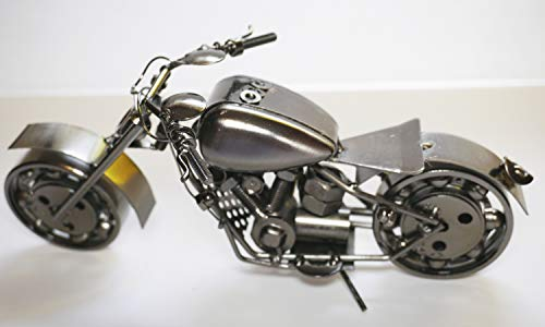 - col-p Realistic Old Fashion Motorcycle Chopper Bike Harley for Collectors Figure 10
