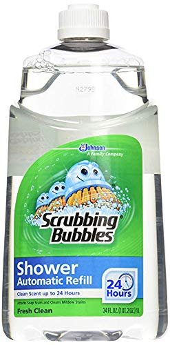 (Scrubbing Bubbles Automatic Shower Cleaner Refill - Original - 34 oz - 6 pk Case)