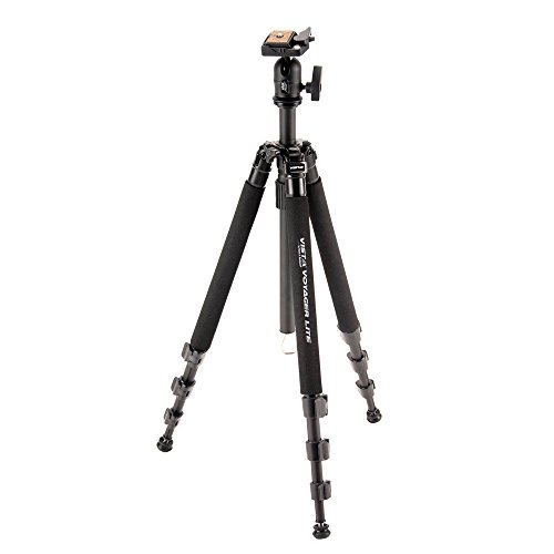 Davis & Sanford VOYAGERLTB Vista Voyager Lite Tripod with BHQ8 Ball Head (Black)