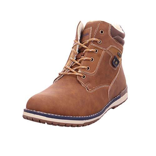 Montega Shoes + Boots Schnürstf.SP-Bod.WF Cognac