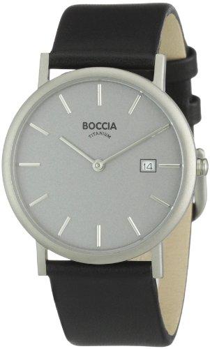 Boccia B3547-01 Mens Titanium Grey Dial Watch