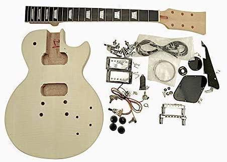Hazlo Tú Mismo Guitarra Eléctrica Kits, Lp-F Estilo Macizo Caoba ...
