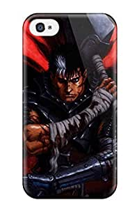 CaseyKBrown Iphone 4/4s Hybrid Tpu Case Cover Silicon Bumper Berserk