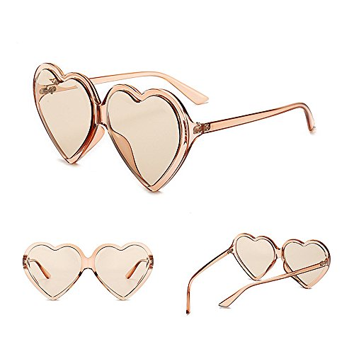 Libre Gran de para Aire Tamaño C3 Corazón C6 Peggy Señora Gafas Conducción Viajar UV Lente Mujer de Sol Color Forma Gu de de Protección Color al qXf1F