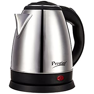 Prestige Electric Kettle PKOSS - 1500watts, Steel (1.5Ltr), Black 7