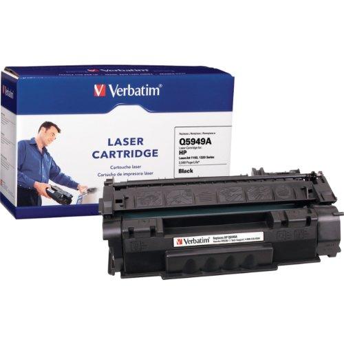 "Verbatim America, Llc - Verbatim Hp Q5949a Remanufactured Toner Cartridge For Laserjet 1160, 1320 Series - Black - Laser - 2500 Page - 1 / Pack ""Product Category: Print Supplies/Ink/Toner Cartridges"""