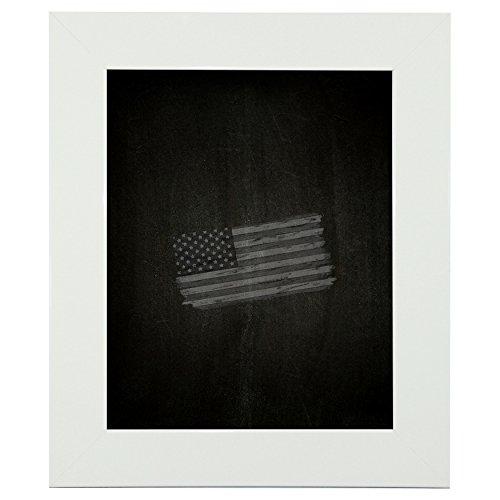 Rayne Mirrors American Made Rayne Delta White Blackboard/ Chalkboard Exterior Size: 24 x 30 by Rayne Mirrors
