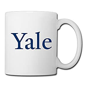 Christina Yale University Logo Ceramic Coffee Mug Tea Cup White
