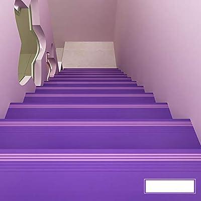 Perfil de transición Barra antideslizante de escalera de PVC, Escalera de jardín de infantes Almohadilla escalonada de plástico Peldaño antideslizante Peldaño Paso integral Pegamento de piso, Espesor: Amazon.es: Bricolaje y herramientas