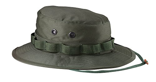 Ultra Force Olive Drab - Rothco Ultra Force Olive Green Military Inspired Boonie Hat LARGE 7 1/2