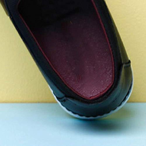 da Black in Junior Casual Moda Scarpe Scarpe Uomo Uomo Casual Pelle Scarpe da xqAYa7xw