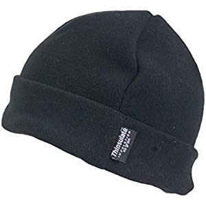 dfd985eb94ad9 Louise23 Mens Outdoor Turn Up Extra Warm Thinsulate Lined Winter Fleece  Beanie Ski Hat Fishing Walking
